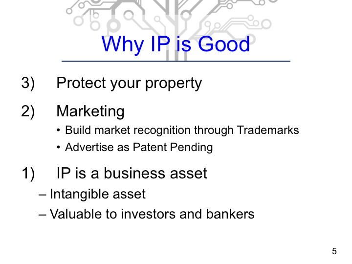 Why is Intellectual Property (IP) is Good for Start-Up Companies